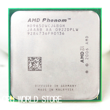 Analyserne Oprindelige AMD CPU Phenom X4 9650 processor 2,3 G Socket AM2 AM2+/ 940 Pin-kode /Dual-CORE / 2MB L2 Cache