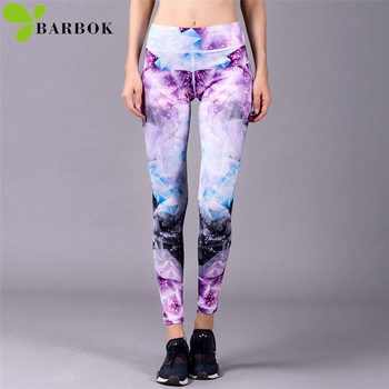 BARBOK kvinder yoga leggings yoga bukser, leggins sport women fitness sport leggings, bløde fleksible kører motion yoga leggings