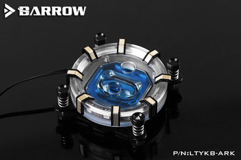 Barrow LTYKB-ARK til Intel socket LGA115x LRC RGB v2 Aurora Limited Edition CPU waterblock 0,4 MM microcutting micro vandveje