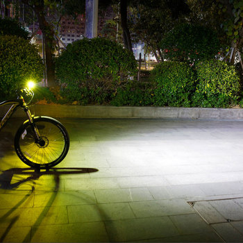 Gaciron V9D Cykel Forlygte Dual Chips Super Lyse Cykel L2 LED-Lampe Foran Lampen 1600Lumens Interne Batteri USB-Opladning